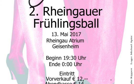 RHEINGAUER FRÜHLINGSBALL 2017